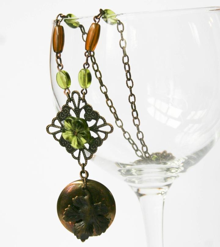 green-flower-locket