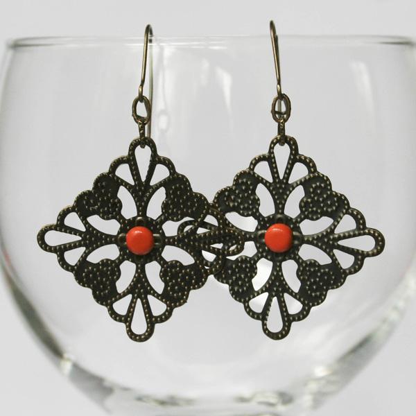 orange-dot-filigree-earrings