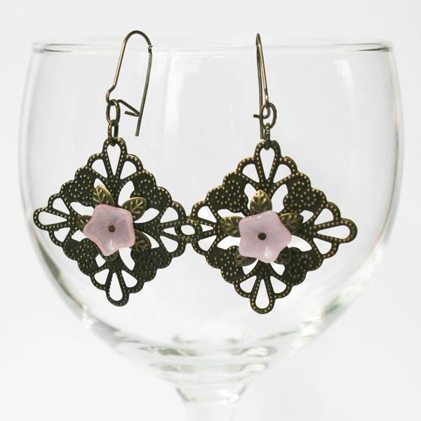 pink-blossom-filigree-earrings